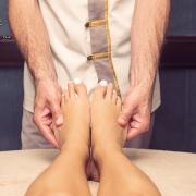 реклама массажа ног