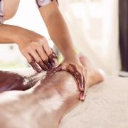 фотографии шоколадного массажа
