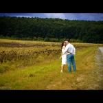 интересные задумки фото на свадьбе за городом возле дороги