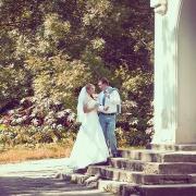нежные романтические фотографии свадьбы с Шаровки (замок)