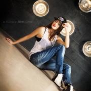 студийная фотосессия МС Черники в креатив студии МНфото