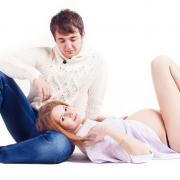 красивые и нежные фотосессии беременной в профессиональной фотостудии