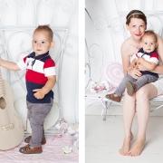 мамочка с сыночком фото коллаж