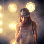 студийные фотосессии с дымом и сигаретами