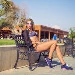пляжные фотосессии из Анталии, топ модель, Мисс Ливан