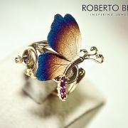 художественные фотографии колец Roberto Bravo
